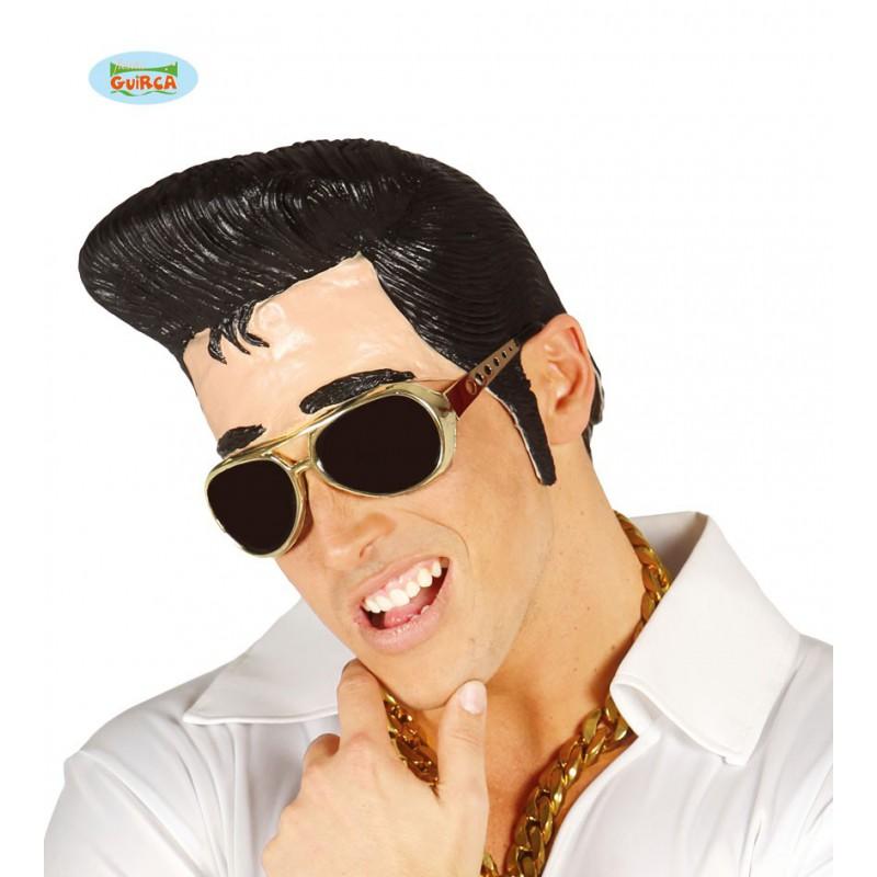 Peluca con tupe Elvis