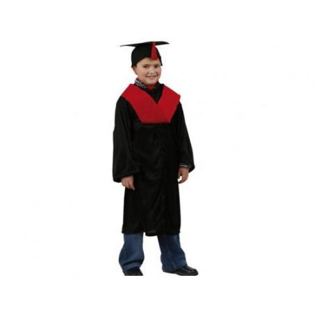 Disfraz de licenciado rojo