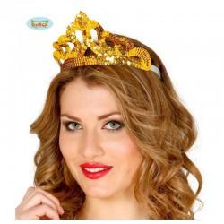 Diadema princesa lentejuelas