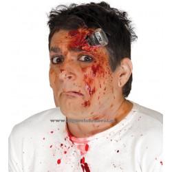 Cicatriz tornillo sangre