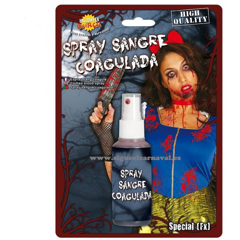 Sangre en spray