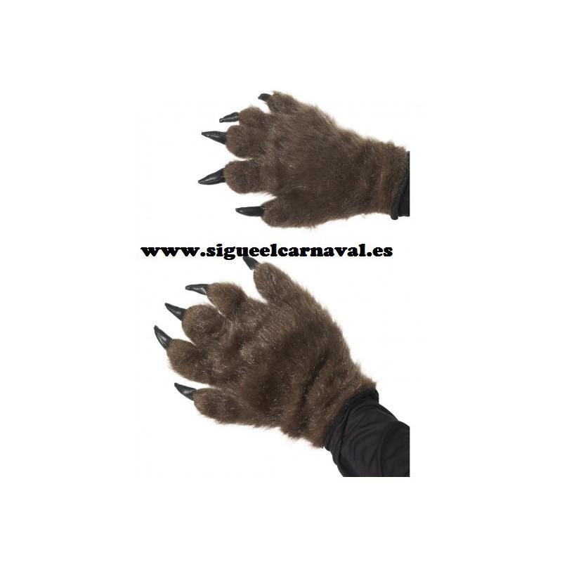 Guantes lobo monstruo