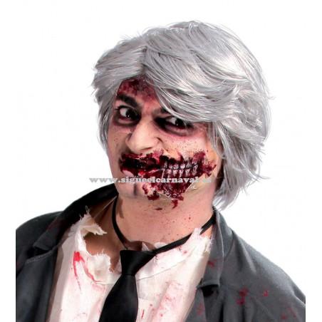 Peluca caballero zombie