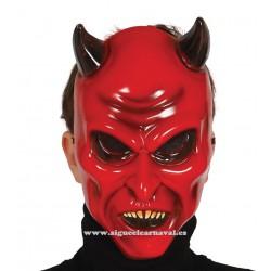 Careta diablo demonio