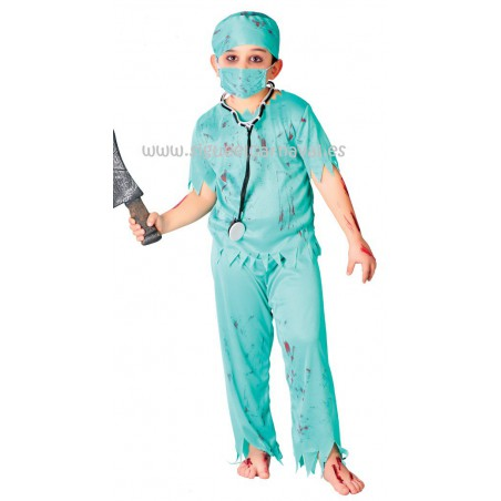 Cirujano medico zombie