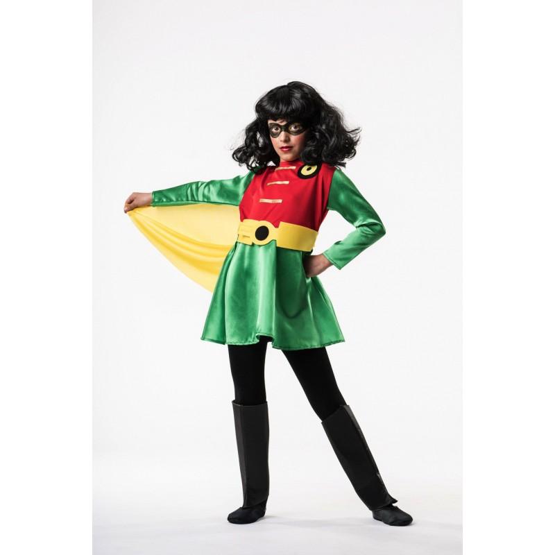 Robin niña superheroe