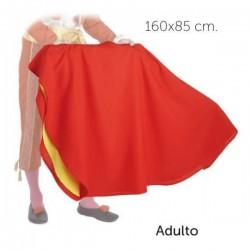 Muleta (disfraz) torero adulto