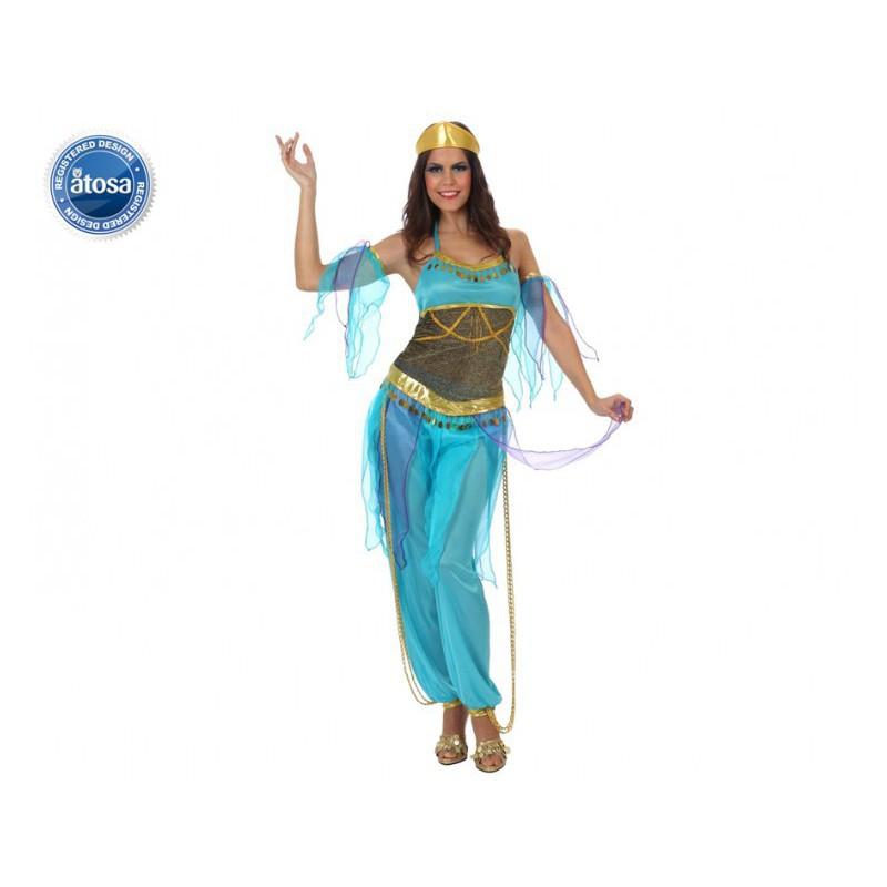 Arabe mora azul mujer