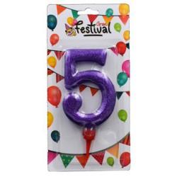 Vela cumpleaños gigante