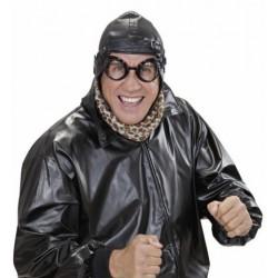 Gafas Laboratorio/Aviador negras con goma trasera y cristales