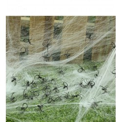 Paquete de arañas 25 unidades