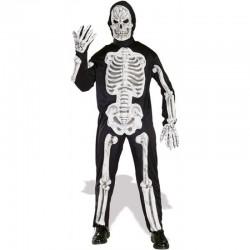 Disfraz esqueleto con huesos 3 D