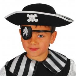 Gorro pirata infantil