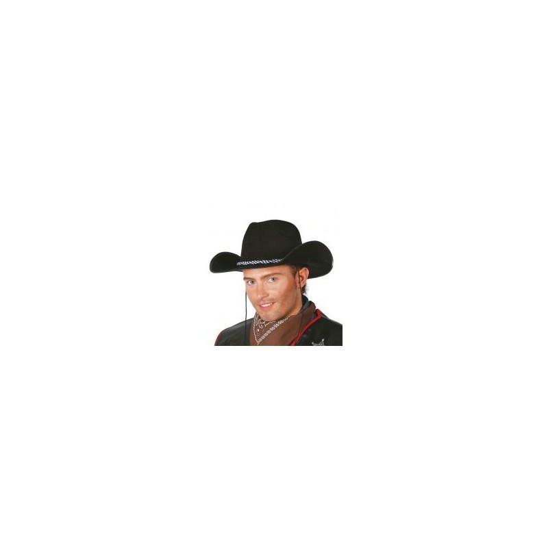 Gorro vaquero negro