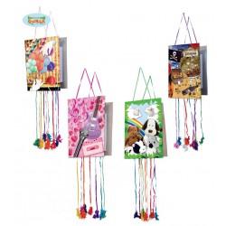 Piñata surtidas 33 x 50 cm.