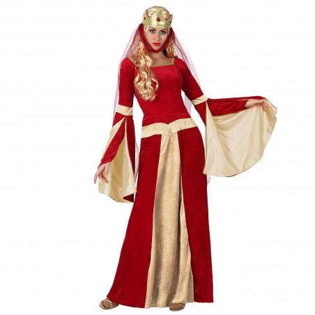 Dama Medieval Rojo