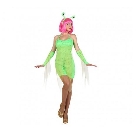 Disfraz Marciana Alien Mujer