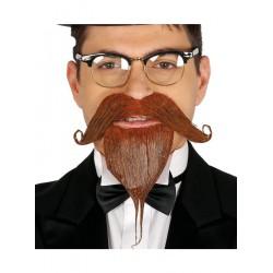 Perilla con bigote y Adhesivo