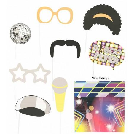 Set Photocall Disco