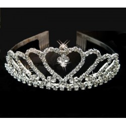Corona metálica Princesa Reina