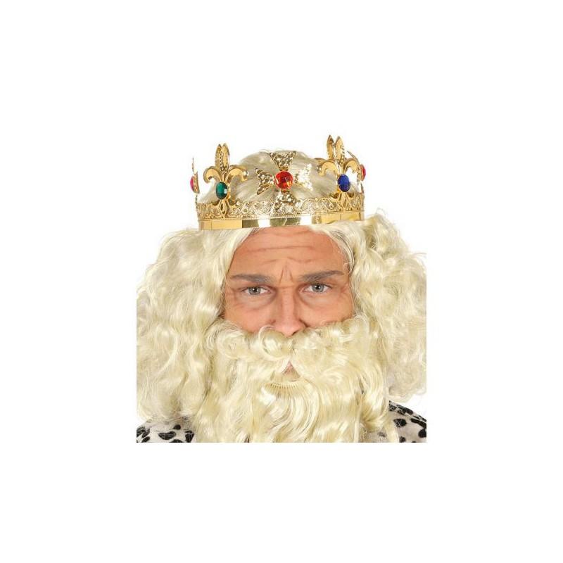 Corona metálica Rey