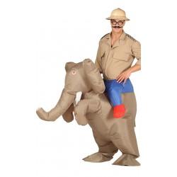 Disfraz a hombros Elefante