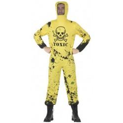 Disfraz Buzo Toxic T.M_L