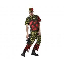 Disfraz Militar Zombie