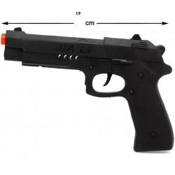 Pistola Detective 19 cm.