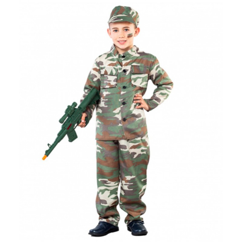 Militar niño