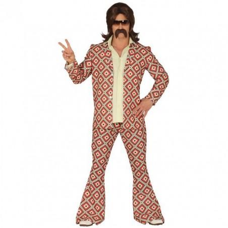 Disfraz Años 70 Rombos T.L