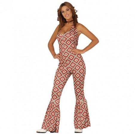 Disfraz Años 70 Rombos Mujer T.M