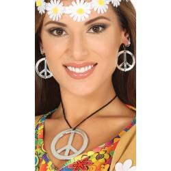 Set hippie collar y pendientes