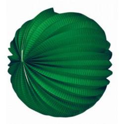 Farolillo Papel Verde 20 cm.
