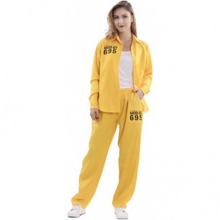 Disfraz Prisionera Amarilla