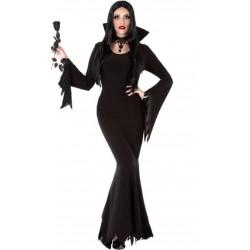 Disfraz Morticia Gótica