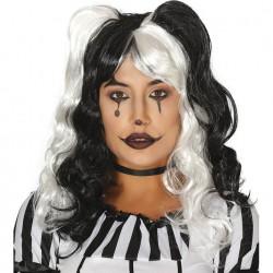 Peluca Melena Arlequin