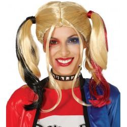Peluca Coletas Harley