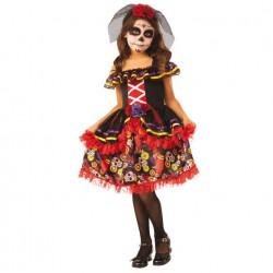 Disfraz Catrinita Dia de los Muertos