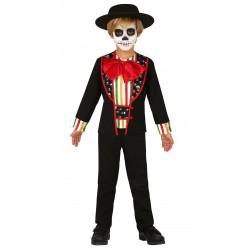 Disfraz Catrino Niño Dia De Los Muertos