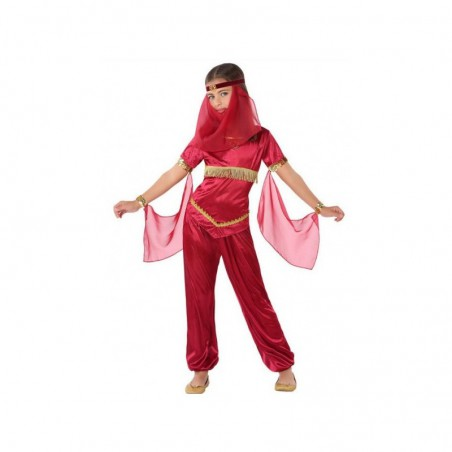 Disfraz Arabe NIña Rojo
