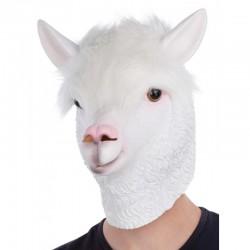 Careta Llama Blanca
