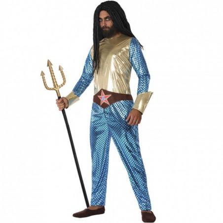 Disfraz de Aqua man Superhéroe para hombre