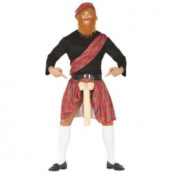 Disfraz Escocés con Sorpresa