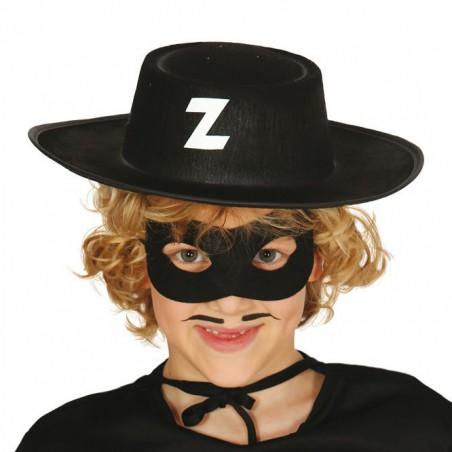 Gorro Bandido Zorro Infantil