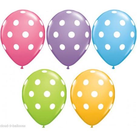 Bolsa surt.10 globos lunares