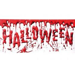 Cartel halloween sangriento