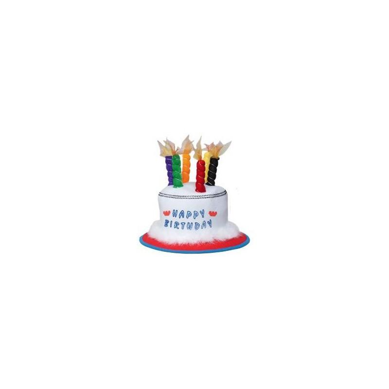 Sombrero cumpleaños velas