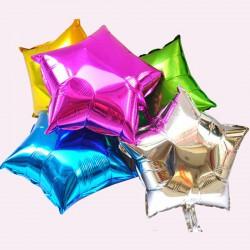 Globo estrella foil ( diferentes colores)