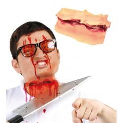 Cicatriz Corte Cuello